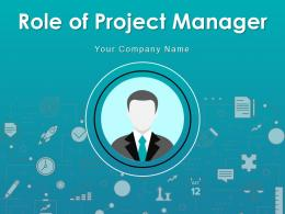 Role Of Project Manager Business Execution Management Resource Communications