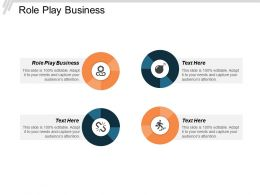 Role Play Business Ppt Powerpoint Presentation Model Images Cpb