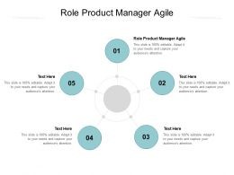 Role Product Manager Agile Ppt Powerpoint Presentation Ideas Structure Cpb