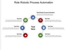 Role Robotic Process Automation Ppt Powerpoint Presentation Pictures Visual Aids Cpb
