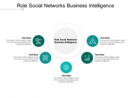 Role Social Networks Business Intelligence Ppt Powerpoint Presentation Portfolio Background Cpb
