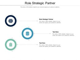 Role Strategic Partner Ppt Powerpoint Presentation Infographics Sample Cpb