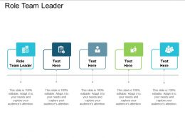 Role Team Leader Ppt Powerpoint Presentation Outline File Formats Cpb