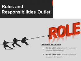 Roles And Responsibilities Outletpowerpoint Slide Clipart
