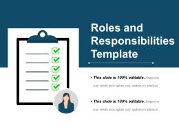 Roles And Responsibilities Template Ppt Examples Slides