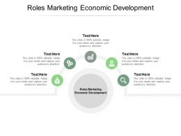 Roles Marketing Economic Development Ppt Powerpoint Presentation Infographics Example Cpb