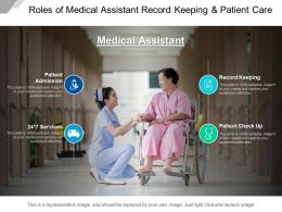 Roles Of Medical Assistant Record Keeping And Patient Care