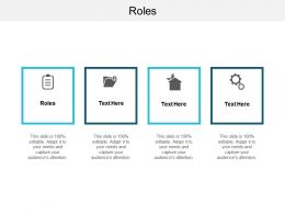 Roles Ppt Powerpoint Presentation Layouts Example File Cpb