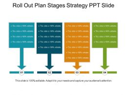 Roll Out Plan Stages Strategy Ppt Slide
