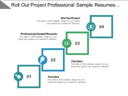 Roll Out Project Professional Sample Resumes Resume Model Cpb