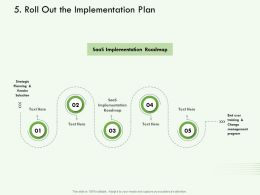 Roll Out The Implementation Plan M3123 Ppt Powerpoint Presentation Ideas Introduction