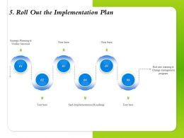 Roll Out The Implementation Plan Vendor Selection Ppt Powerpoint Presentation Graphics