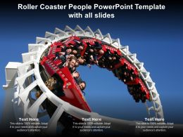 Roller Coaster People Powerpoint Template With All Slides