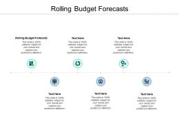 Rolling Budget Forecasts Ppt Powerpoint Presentation Styles Summary Cpb