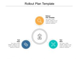 Rollout Plan Template Ppt Powerpoint Presentation Infographics Inspiration Cpb