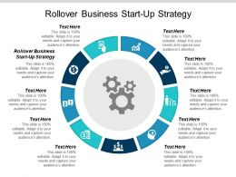 Rollover Business Start Up Strategy Ppt Powerpoint Presentation Summary Slideshow Cpb