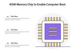 ROM Memory Chip To Enable Computer Boot