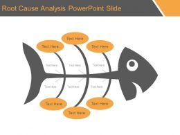 Root Cause Analysis Powerpoint Slide