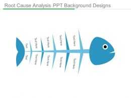 Root Cause Analysis Ppt Background Designs