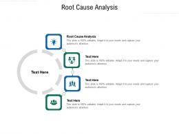 Root Cause Analysis Ppt Powerpoint Presentation Backgrounds Cpb