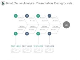 Root Cause Analysis Presentation Backgrounds