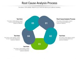 Root Cause Analysis Process Ppt Powerpoint Presentation Infographics Format Cpb