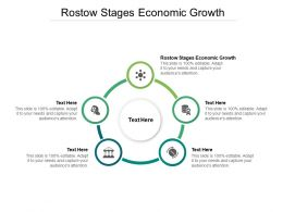 Rostow Stages Economic Growth Ppt Powerpoint Presentation Ideas Cpb