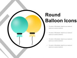 Round Balloon Icons