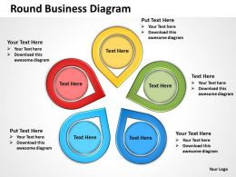 Round Business Diagram 33