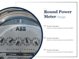 Round Power Meter Image