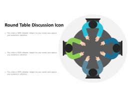 Round Table Discussion Icon