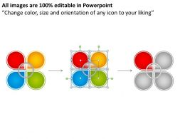 rounded_chart_4_stages_shown_by_petals_of_a_slower_powerpoint_templates_0712_Slide06