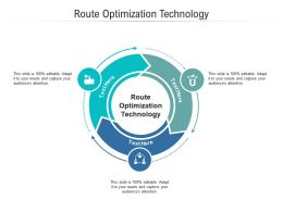 Route Optimization Technology Ppt Powerpoint Presentation Summary Aids Cpb