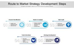 Route To Market Strategy Development Steps