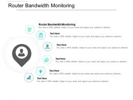 Router Bandwidth Monitoring Ppt Powerpoint Presentation Ideas Format Cpb