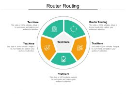 Router Routing Ppt Powerpoint Presentation Layouts Examples Cpb