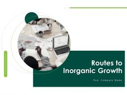 Routes To Inorganic Growth Powerpoint Presentation Slides