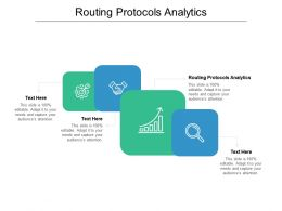 Routing Protocols Analytics Ppt Powerpoint Presentation File Outfit Cpb