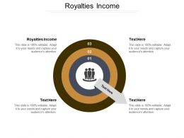 Royalties Income Ppt Powerpoint Presentation Icon Objects Cpb