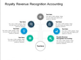 Royalty Revenue Recognition Accounting Ppt Powerpoint Presentation Summary Cpb