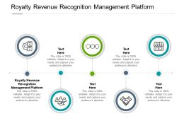 Royalty Revenue Recognition Management Platform Ppt Powerpoint Tips Cpb