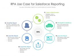 RPA Use Case For Salesforce Reporting