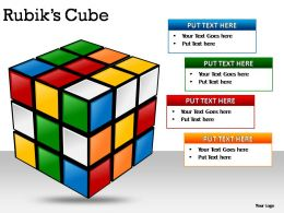 Rubiks Cubes Powerpoint Presentation Slides