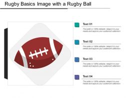 Rugby Basics Image With A Rugby Ball