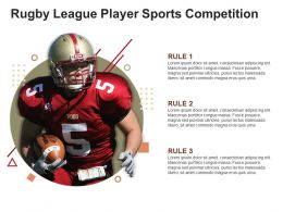 Rugby League Player Sports Competition