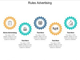 Rules Advertising Ppt Powerpoint Presentation Model Gallery Cpb