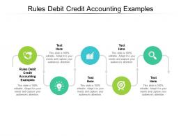 Rules Debit Credit Accounting Examples Ppt Powerpoint Presentation Ideas Outfit Cpb