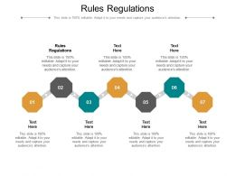 Rules Regulations Ppt Powerpoint Presentation Pictures Graphics Tutorials Cpb
