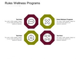 Rules Wellness Programs Ppt Powerpoint Presentation File Inspiration Cpb