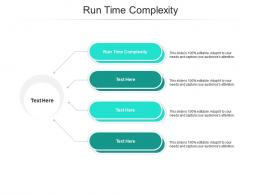 Run Time Complexity Ppt Powerpoint Presentation Infographics Outfit Cpb